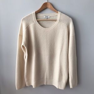 Madewell Cashmere All Day Pullover Sweater